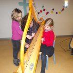 initiation à la harpe