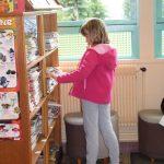 rayonnage de livres en bibliothèque