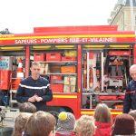 Sortie - Camion de pompiers