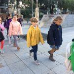 Les enfants se rendent au Conservatoire