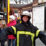 Sortie - Tenue de pompier