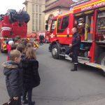 Sortie - Caserne des pompiers
